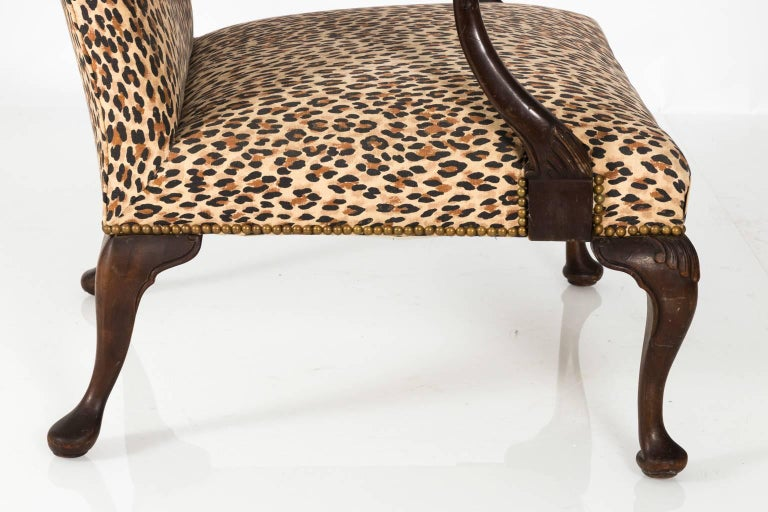 Mahogany Bergere Chair For Sale 5