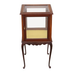 Mahogany Bijouterie Display Cabinet Table