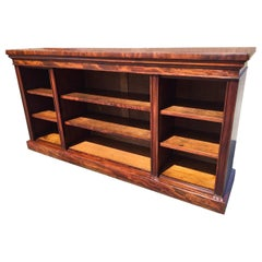 Mahogany Bookcase, Library, English, circa 1830