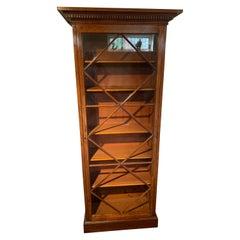Mahogany Bookcase Victorian