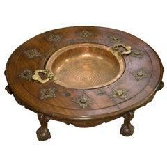 Mahogany Brazier Box, Spain, 18th Century