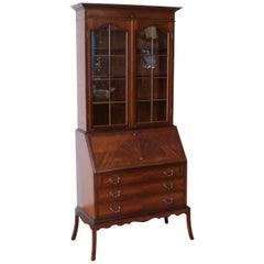 Mahogany Bureau Bookcase