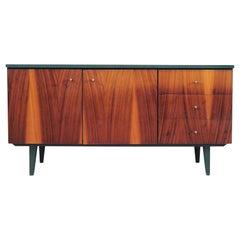 Mahogany Cabinet, Polish Design, 1980s