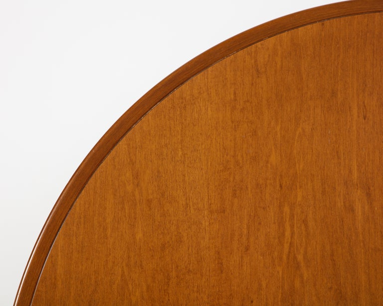 Mahogany Center and Dining Table by Angelo Mangiarotti, 1972  For Sale 7