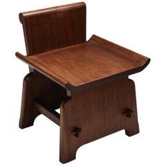 Mahogany Chair 'atelier français'