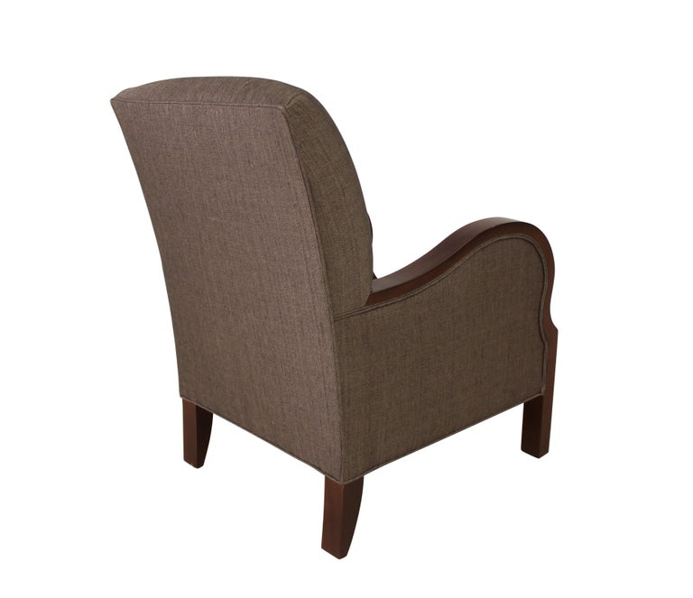 American Modernist series Club Chair For Sale