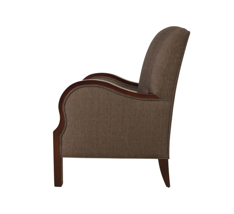 Hand-Crafted Modernist series Club Chair For Sale