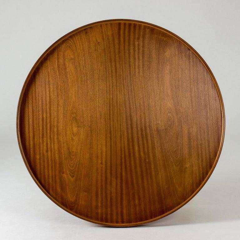 Danish Mahogany Coffee Table by Kaare Klint For Sale