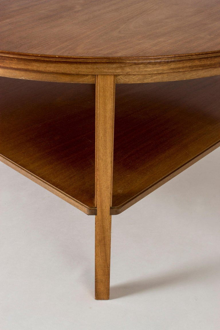 Mahogany Coffee Table by Kaare Klint For Sale 2