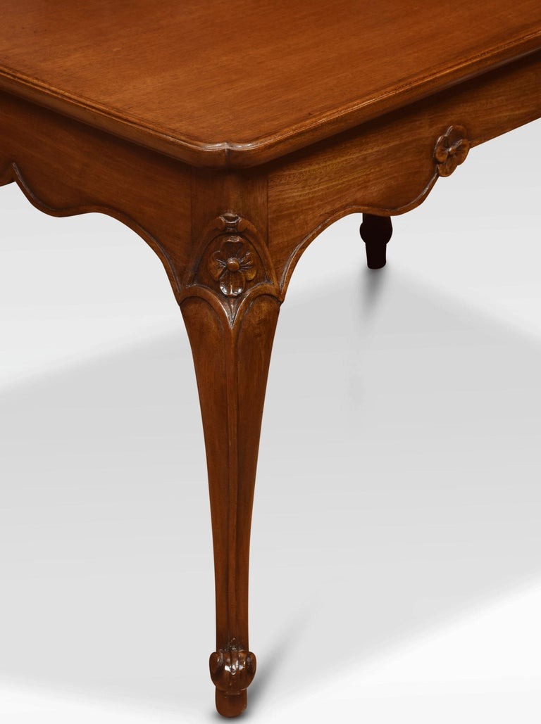 20th Century Mahogany Coffee Table For Sale