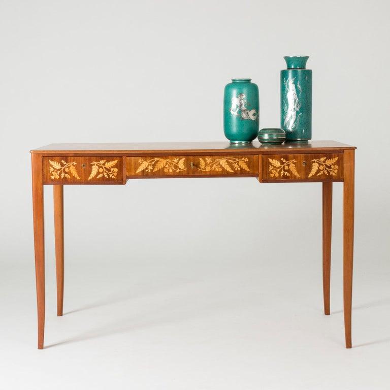 Mahogany Desk by Carl Malmsten 4