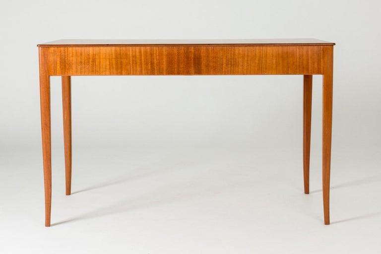 Swedish Mahogany Desk by Carl Malmsten
