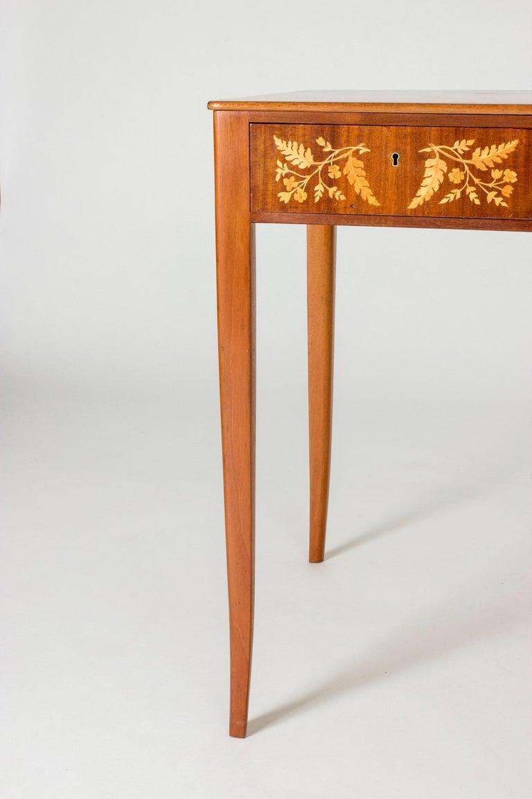 Mahogany Desk by Carl Malmsten 2