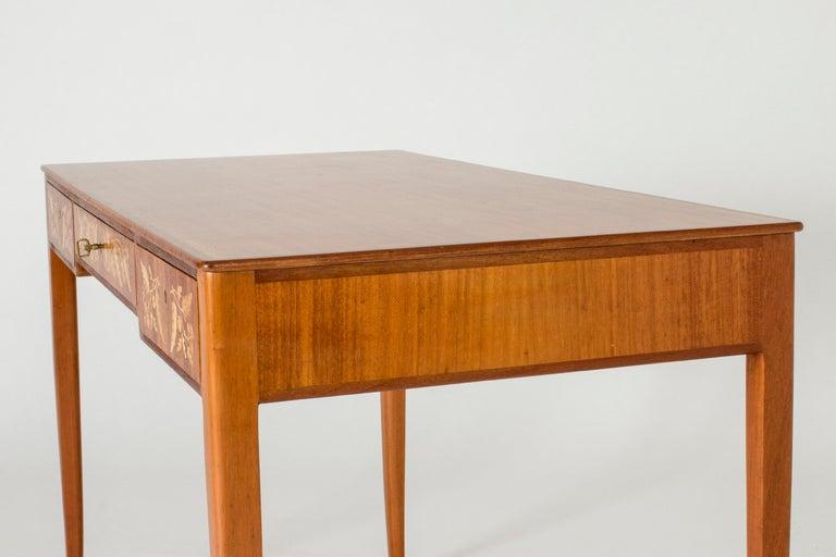 Mahogany Desk by Carl Malmsten 3