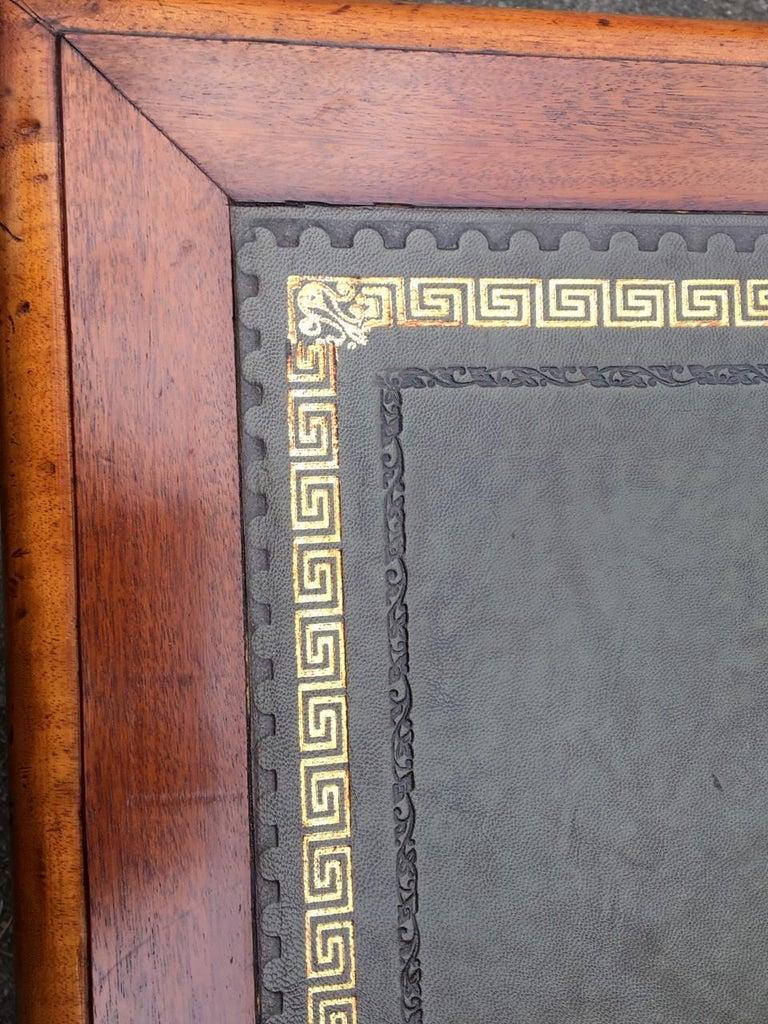 Mahogany Desk, English, circa 1850 For Sale 2