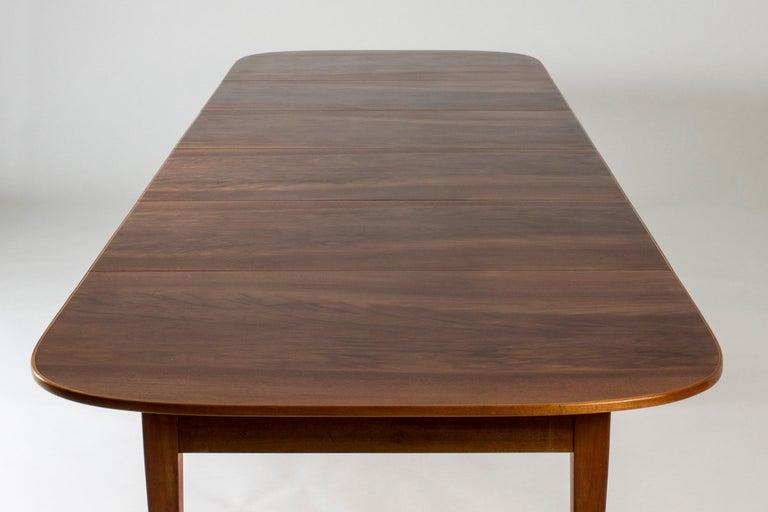 Mahogany Dining Table by Josef Frank for Svenskt Tenn, Sweden, 1950s 4