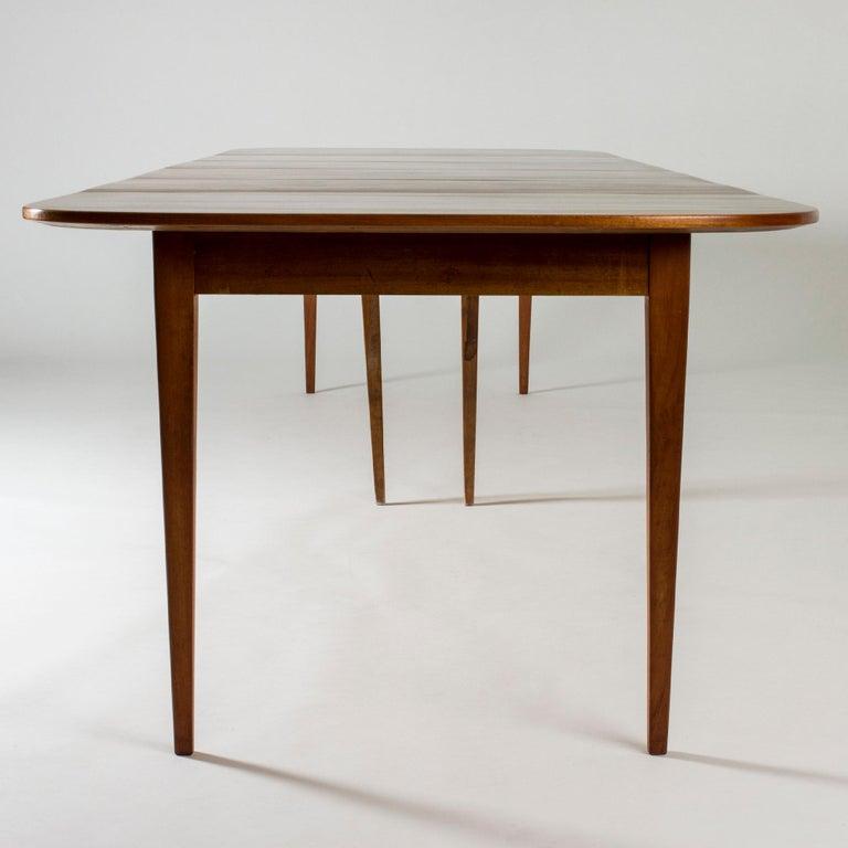 Mahogany Dining Table by Josef Frank for Svenskt Tenn, Sweden, 1950s 5