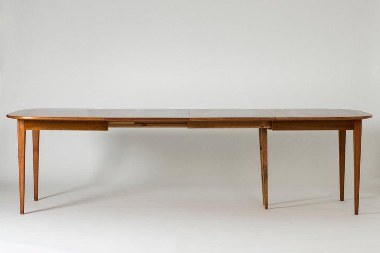 Mahogany Dining Table by Josef Frank for Svenskt Tenn, Sweden, 1950s 9