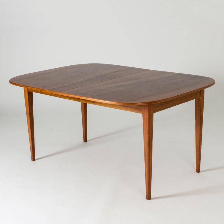 Scandinavian Modern Mahogany Dining Table by Josef Frank for Svenskt Tenn, Sweden, 1950s