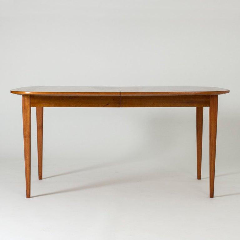 Swedish Mahogany Dining Table by Josef Frank for Svenskt Tenn, Sweden, 1950s