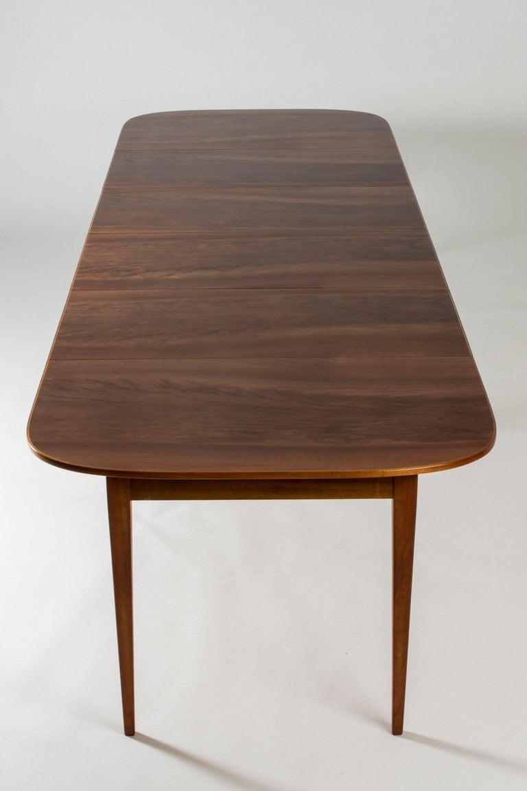 Mahogany Dining Table by Josef Frank for Svenskt Tenn, Sweden, 1950s 1