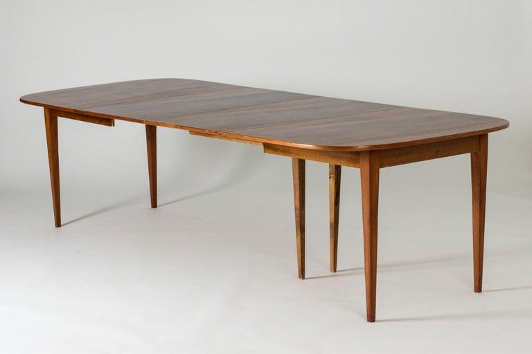 Mahogany Dining Table by Josef Frank for Svenskt Tenn, Sweden, 1950s 2