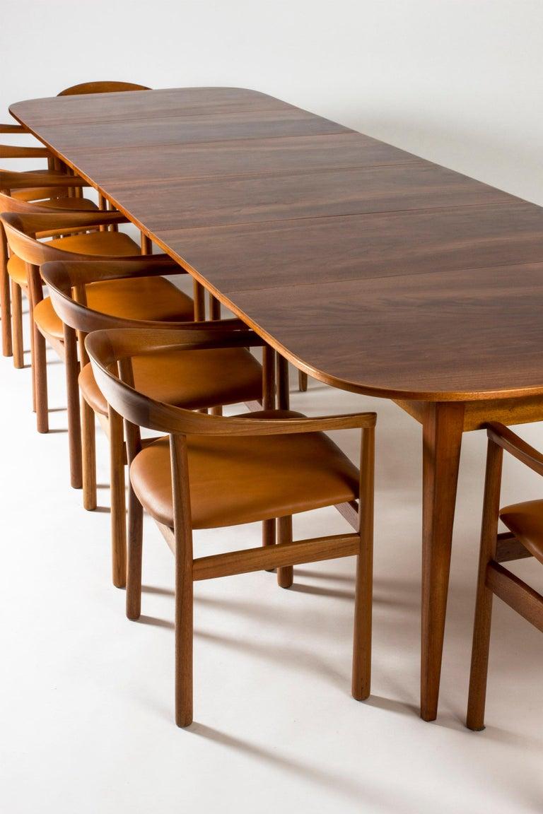 Mahogany Dining Table by Josef Frank for Svenskt Tenn, Sweden, 1950s 3