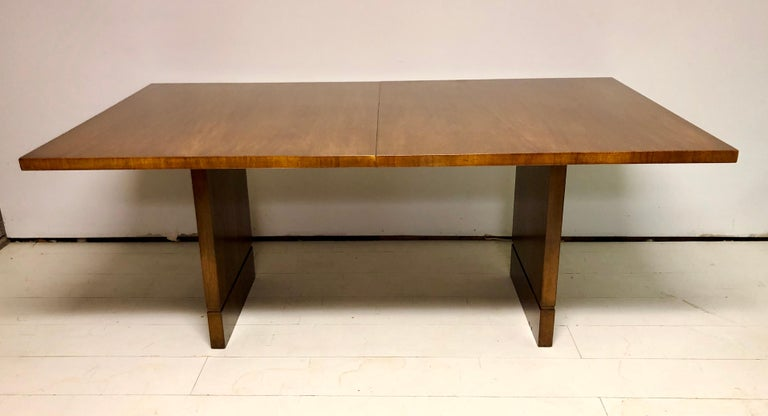 American Mahogany Dining Table by T.H. Robsjohn-Gibbings For Sale