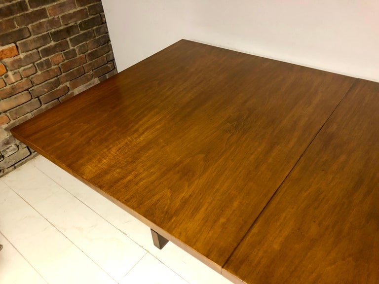 Mid-20th Century Mahogany Dining Table by T.H. Robsjohn-Gibbings For Sale