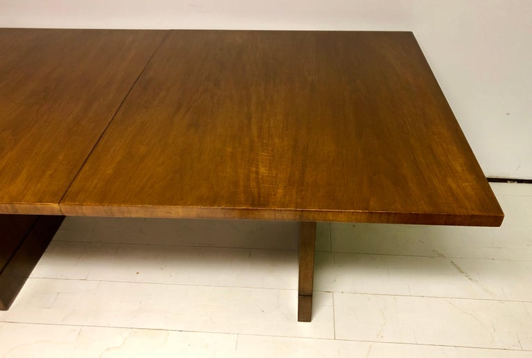 Mahogany Dining Table by T.H. Robsjohn-Gibbings For Sale 1