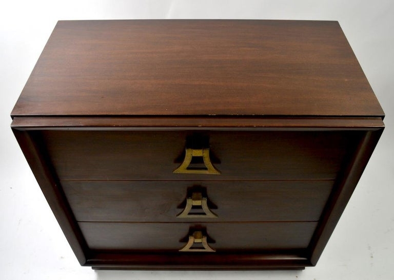 American Mahogany Dresser by Harjer For Sale