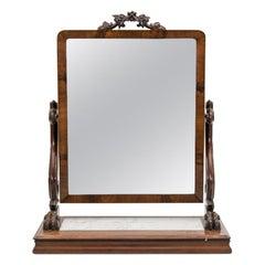 Mahogany Dressing Mirror