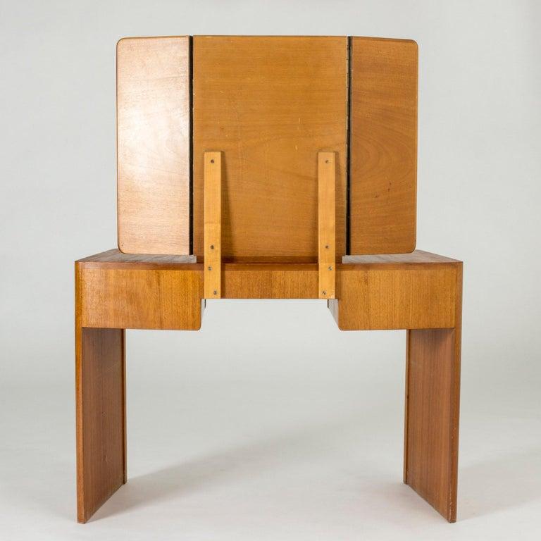 Mahogany Dressing Table by Carl-Axel Acking for Nordiska Kompaniet For Sale 5