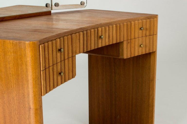 Mid-20th Century Mahogany Dressing Table by Carl-Axel Acking for Nordiska Kompaniet For Sale