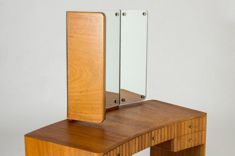 Mahogany Dressing Table by Carl-Axel Acking for Nordiska Kompaniet For Sale 1