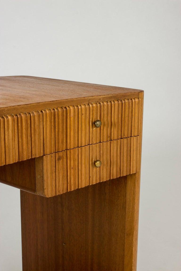 Mahogany Dressing Table by Carl-Axel Acking for Nordiska Kompaniet For Sale 2