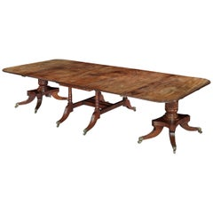Mahogany Extending Dining Table of the Late Georgian Period