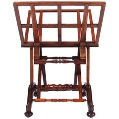 Mahogany Folio Stand