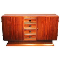 Mahogany French Art Deco Buffet