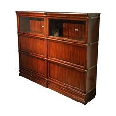 Mahogany Globe Werrnicke Bookcase
