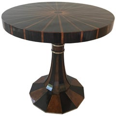 Mahogany Inlaid Centre/Side Table Attributed to Lorin Marsh