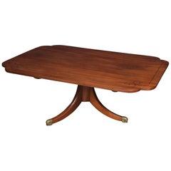 Mahogany Inlaid Coffee Table