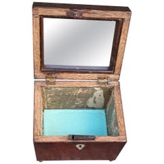 Mahogany Jewelry Box with Mirror