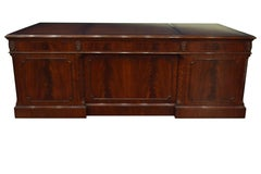 Mahogany Lateral File Cabinet by Leighton Hall
