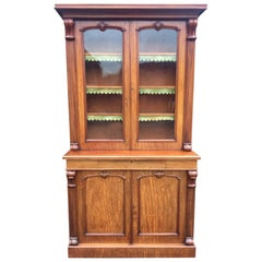 Mahogany Library Bookcase, Scottish, 1880