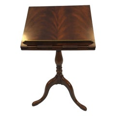Mahogany Maitland Smith Queen Anne Style Adjustable Lectern