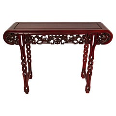 Mahogany Ming Chinese Altar Table