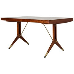 """Mahogany """"Napoli"""" Dining Table by David Rosén"""