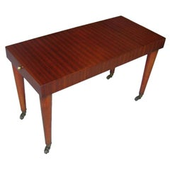 Mahogany Occasional Table by Edward Wormley