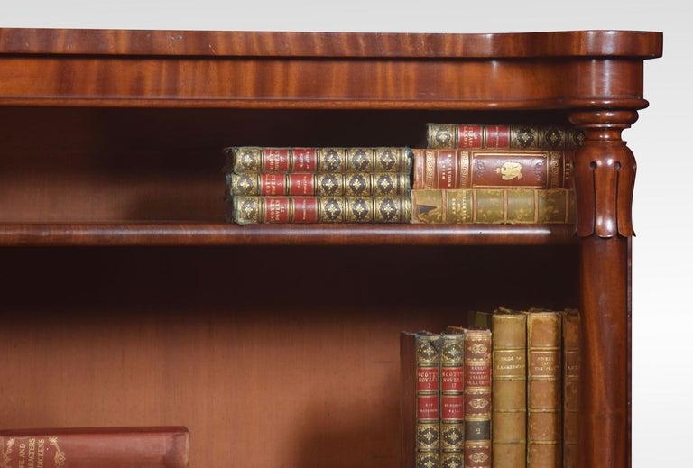 Mahogany Open Bookcase For Sale 2